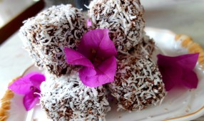Raw Lamingtons Flowers
