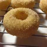Baked cinnamon sugar doughnut