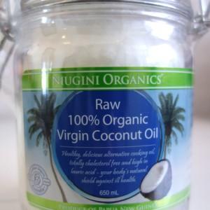 CoconutOilNiugini650ml