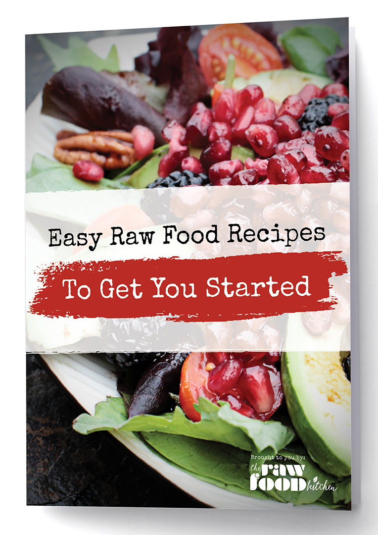 The raw food kitchen book raw food books raw food recipe book easy raw food recipes to get you started forumfinder Gallery