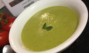 Green Sprout Gazpacho Garnish
