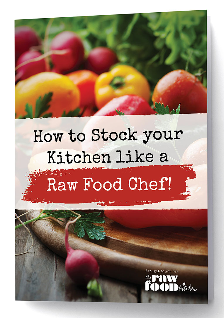 The raw food kitchen raw food recipes raw food diet raw food how to stock your kitchen like a raw food chef forumfinder Images