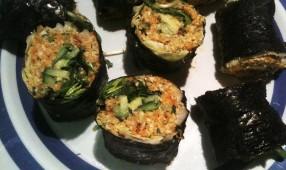 Raw Vege Sushi