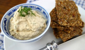 Sesame Seed Slice Sprouted Hummus