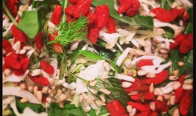 Rocket, Fennel and Goji Berry