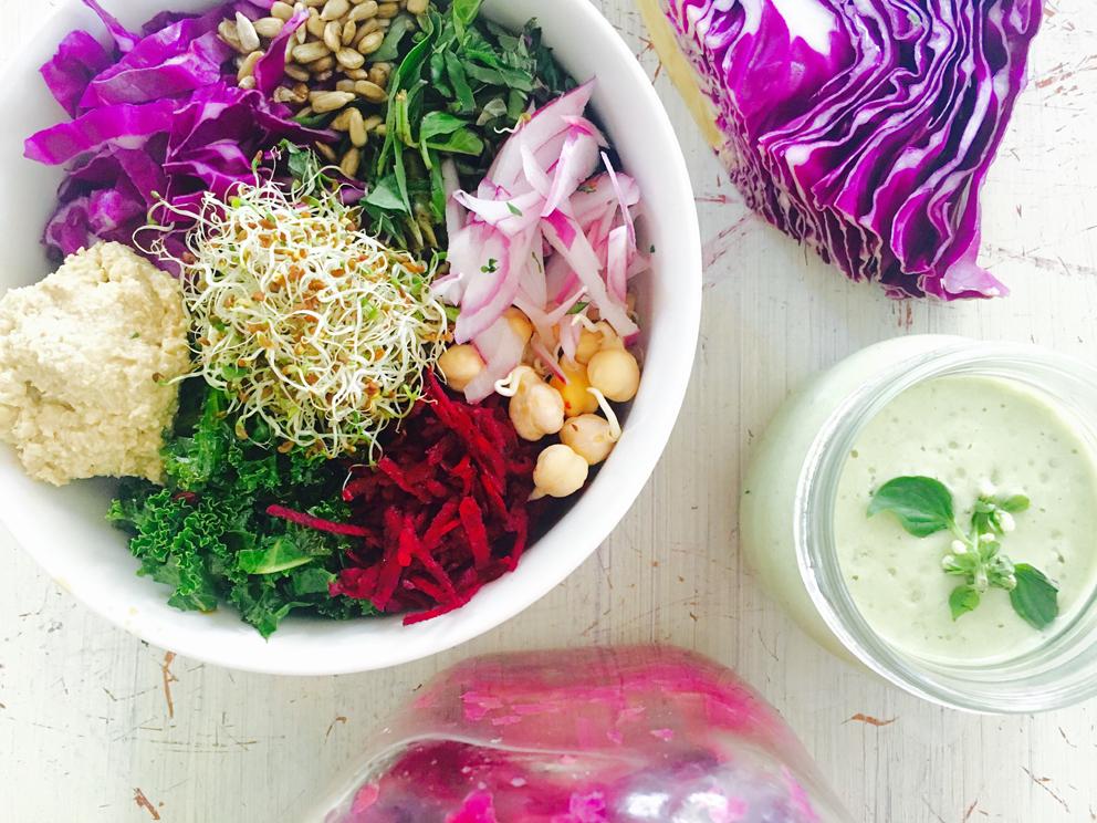 Purple Buddah Bowl