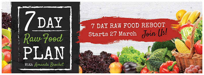 7 day raw food march